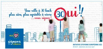 30km/h : redonnons vie à nos villes