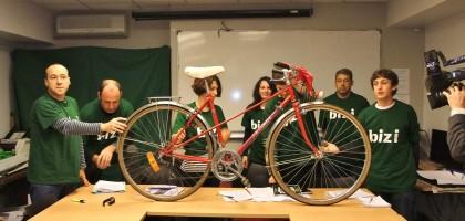 Un vélo pour Didier Borotra !