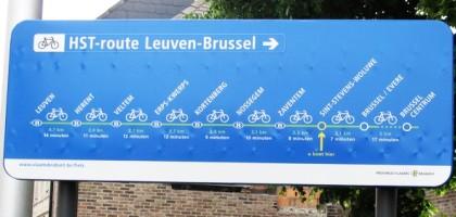 Succès de l'autoroute vélo belge