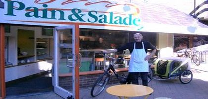 Un «cyclo-traiteur» à Louvain-la-Neuve