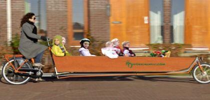 La vie sans voiture : les enfants à vélo