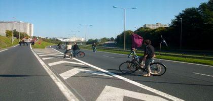Point de vue cycliste sur les journées d'action pour l'abrogation de la réforme des retraites