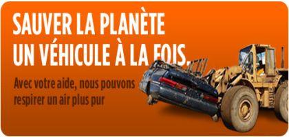Recyclage de vieux bazous – Faites de l'air! À Montréal