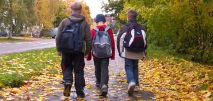 Aller à l'école à pied ou à vélo améliore la concentration