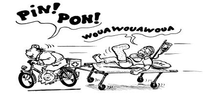 Les ambulances à vélo