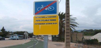A Toulon, on construit des pistes cyclables pour garer les voitures!