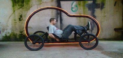 Artikcar, un concept de voiture à pédales