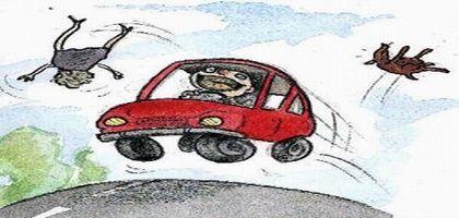 Automobilistes, sur la route, soyez courtois, assumez vos responsabilités et agissez en adulte.