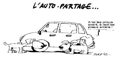 L'autopartage dans la sphère privée