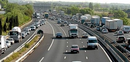 Montpellier, hold up sur l'autoroute