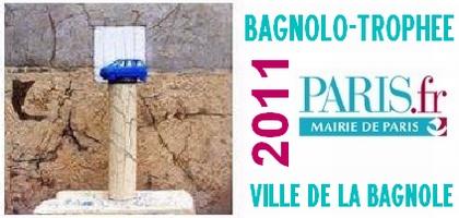 Le Bagnolo-Trophée 2011 est attribué à la ville de Paris