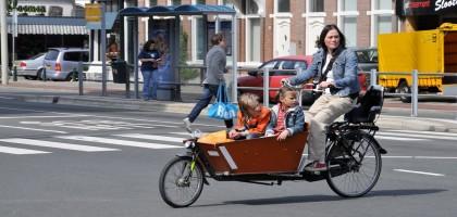 Le vélo cargo : quand il y a plus que soi à transporter