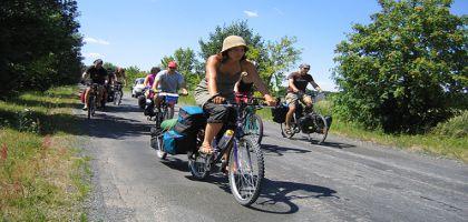 Participez au Biketour 2009, 1700 km à travers l'Europe du 07 juillet au 28 août 2009