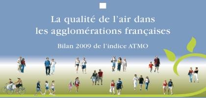 Le palmarès de la pollution 2009 dans les agglomérations françaises
