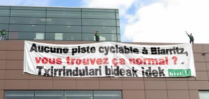 Piratage du salon de l'auto de Biarritz