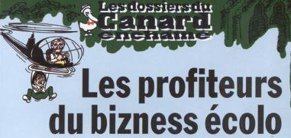 Les profiteurs du bizness écolo