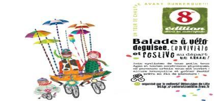 Carnaval à vélo 2013 de Lille