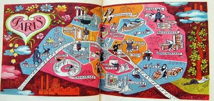 La carte des aménagements cyclables de Paris