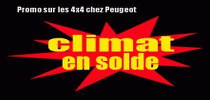 Peugeot brade ses 4X4… mardi 26 mai, participez à la première grande braderie climatique !