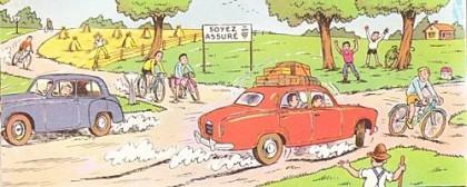 Piétons et cyclistes, des dangers publics