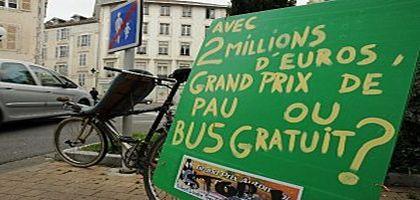 Grand prix automobile ou gratuité des transports publics?