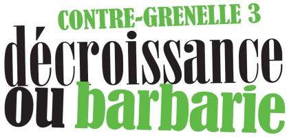 Un Contre-Grenelle le 2 avril : pour l'écologie, contre le capitalisme vert