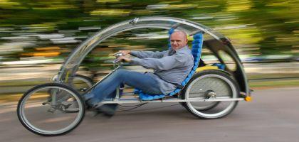 Cyclospace, la voiture de l'autonomie responsable et de la sobriété heureuse