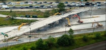 Détruire les autoroutes: un projet d'avenir?