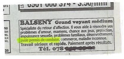 Dr balseny
