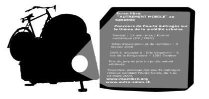 « Autrement mobile » : concours de courts-métrages