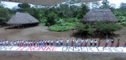 Le pétrole est la mort de la forêt amazonienne!