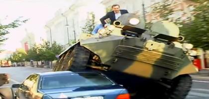 Le maire de Vilnius est un garçon un brin excessif