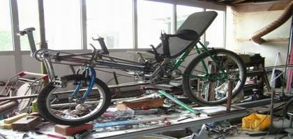 Le roi du brico-vélo
