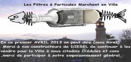La dangerosité des émissions de particules diesel: les arguments d'une association scientifique, l'APPA