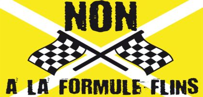 Non à la F1 à Flins