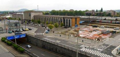 Gare de Mons, du vandalisme à la dilapidation