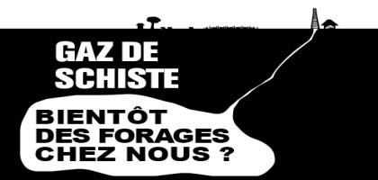 Gaz de schiste : la résistance s'organise