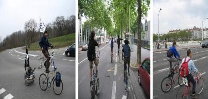 Apprendre à faire du grand vélo