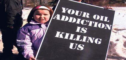 Votre addiction au pétrole est en train de nous tuer