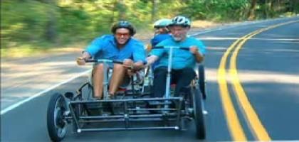 Human car : la voiture à propulsion humaine
