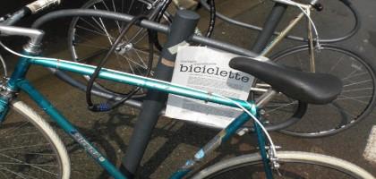 Vietato introdurre biciclette