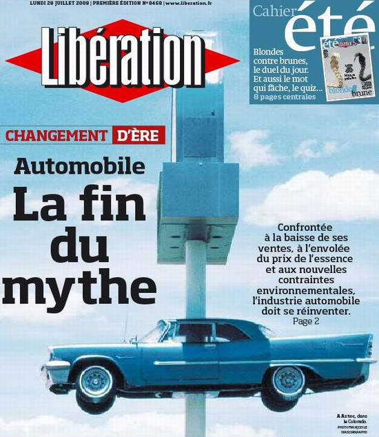 La fin du mythe automobile