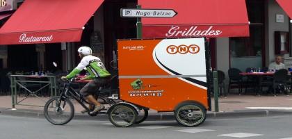 Les avantages de la livraison à vélo