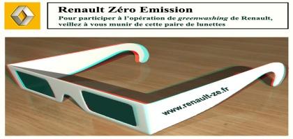 Renault «Zéro Emission» ou le stade suprême du blanchiment écologique