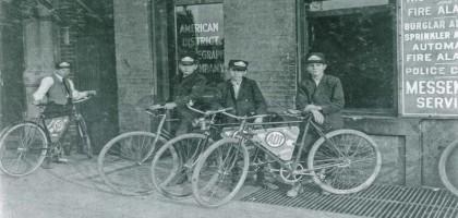 Tomahawk Bike Messenger, coursiers à vélo à Strasbourg