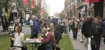 Freinage forcé: Sans voitures à Montréal
