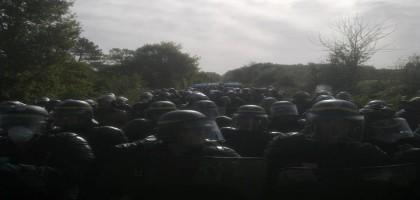 Assourdissant silence médiatique sur la guerre civile contre l'écologie à l'Ayraultport de Notre-Dame-des-Landes
