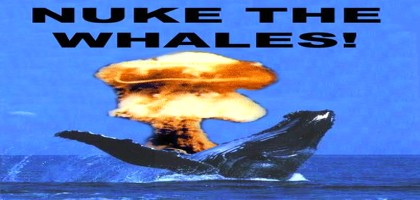 Nagasaki après Hiroshima, La Baleine et le Nucléaire