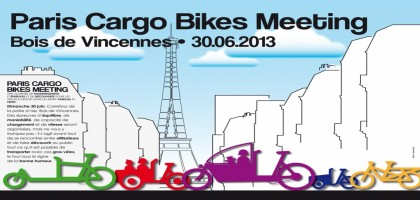 Paris Cargo Bikes Meeting