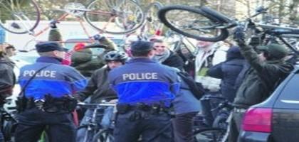 La jeunesse en procès répond dans la rue